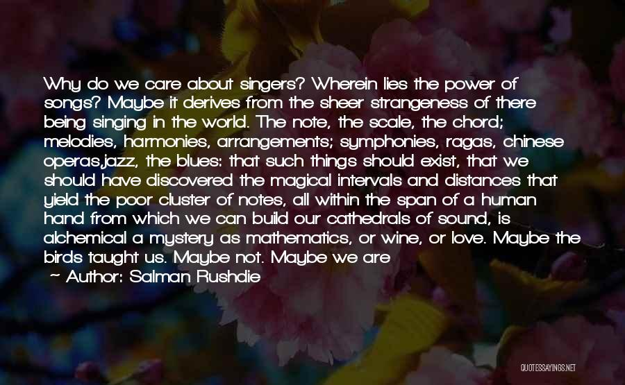 Do Not Deserve Love Quotes By Salman Rushdie