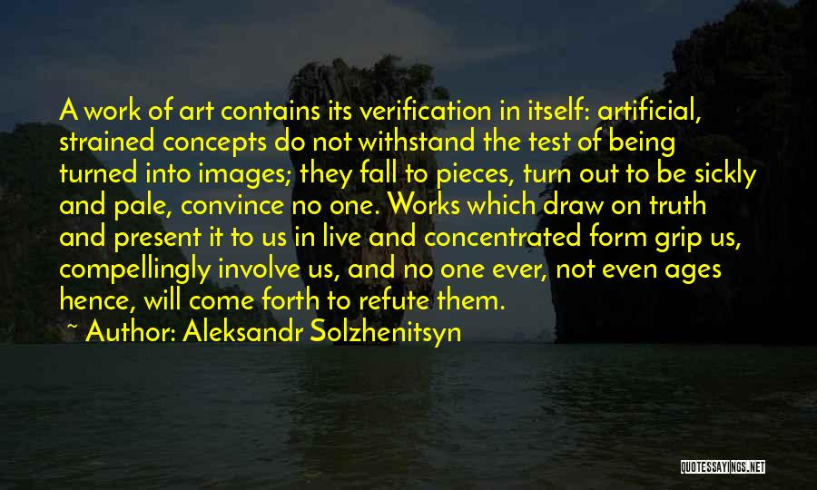 Do Not Fall Quotes By Aleksandr Solzhenitsyn