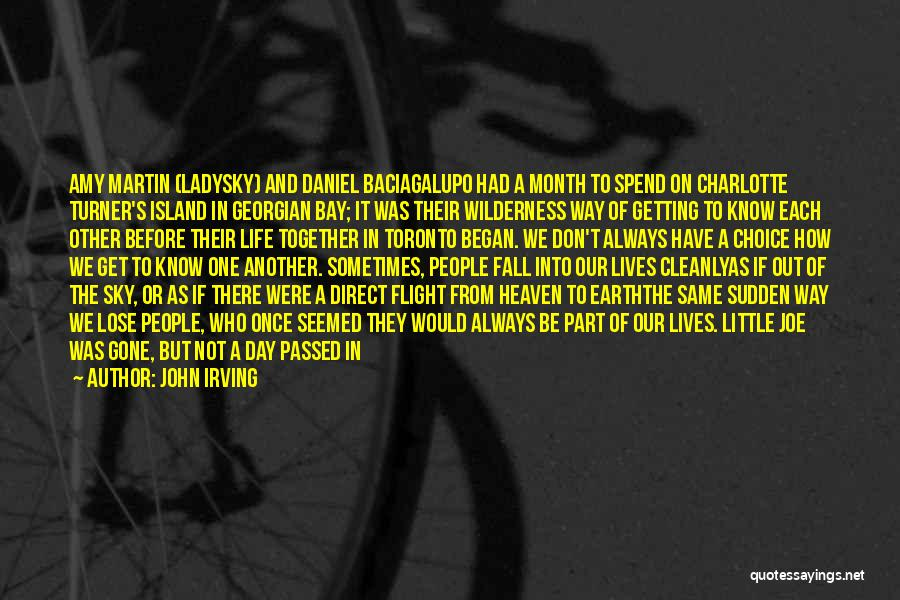 Do Not Fall Quotes By John Irving