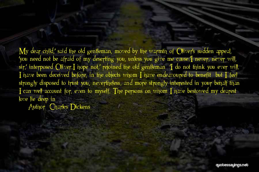 Do Not Give Up On Me Quotes By Charles Dickens