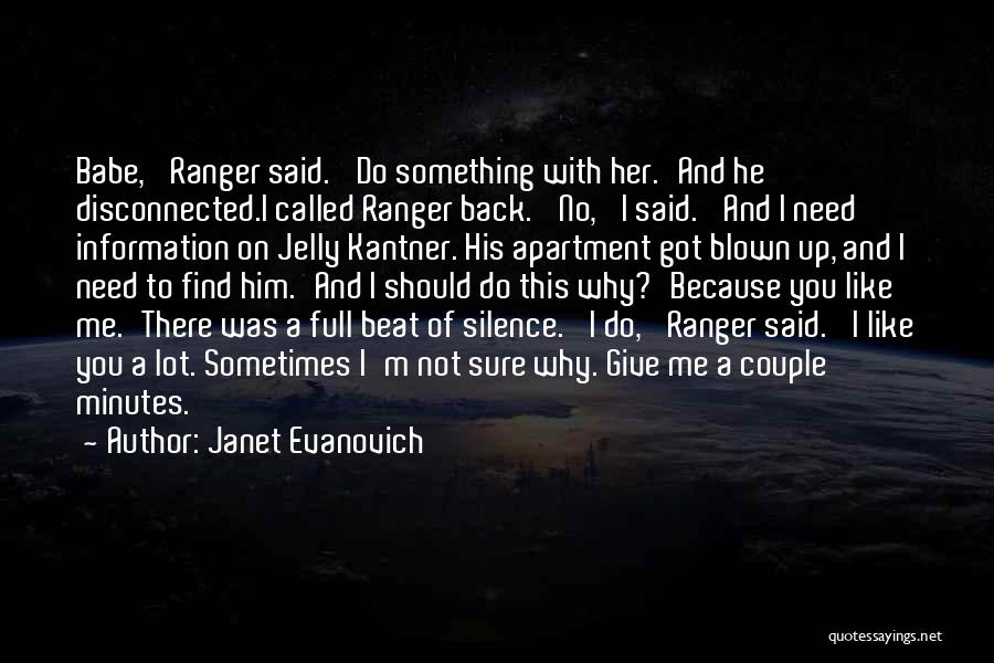 Do Not Give Up On Me Quotes By Janet Evanovich