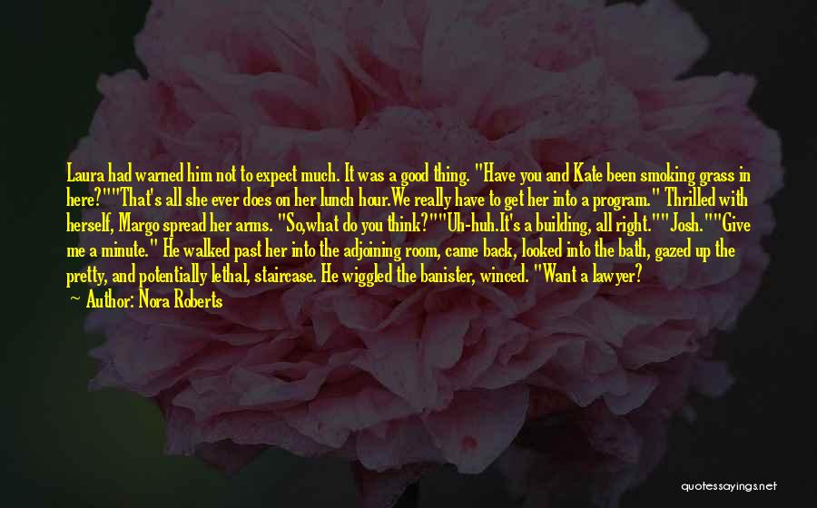 Do Not Give Up On Me Quotes By Nora Roberts