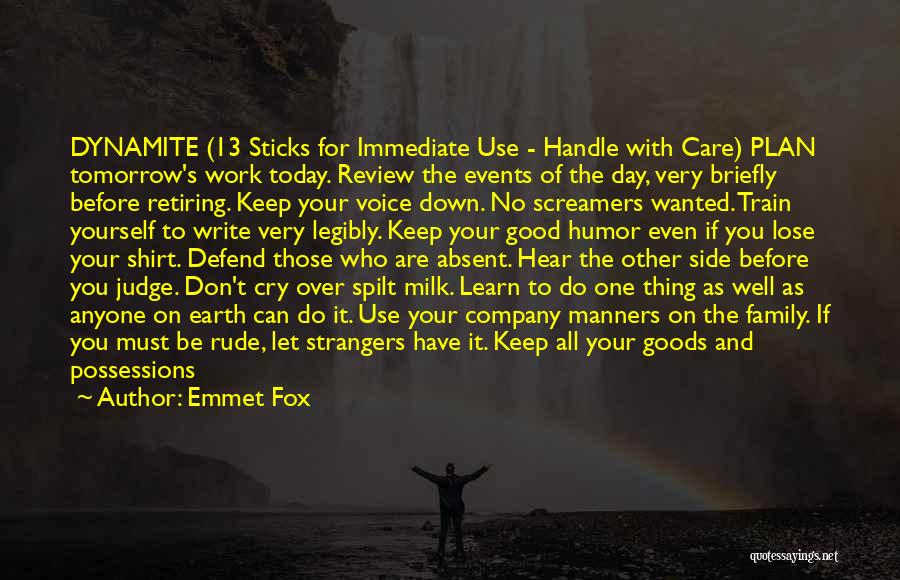 Do Not Let Anyone Quotes By Emmet Fox