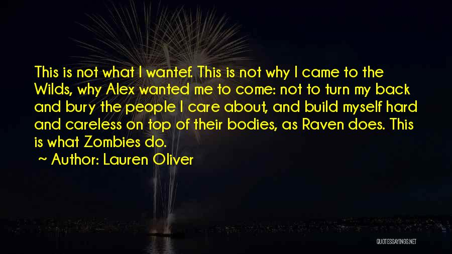 Do Not Turn Back Quotes By Lauren Oliver