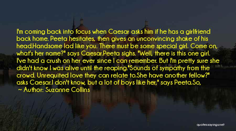 Do Not Turn Back Quotes By Suzanne Collins