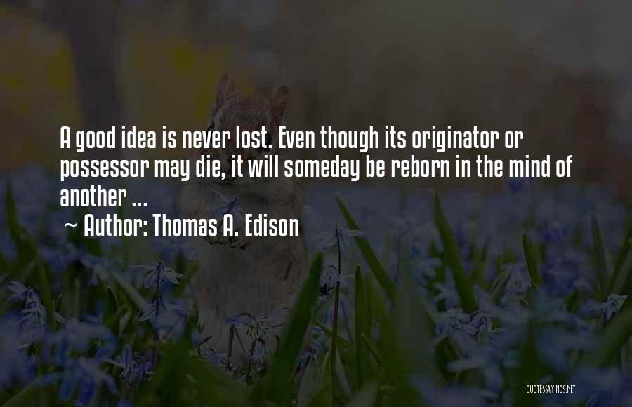 Do Or Die Motivational Quotes By Thomas A. Edison