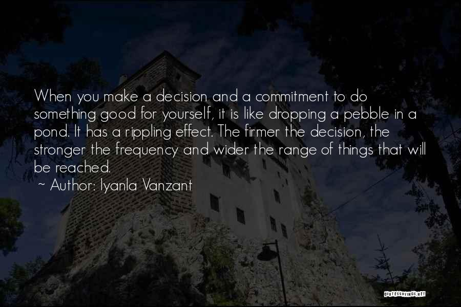 Do Something Good For Yourself Quotes By Iyanla Vanzant