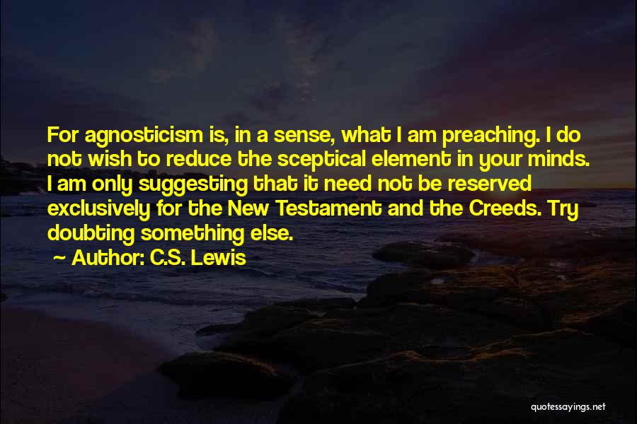 Do The New Quotes By C.S. Lewis