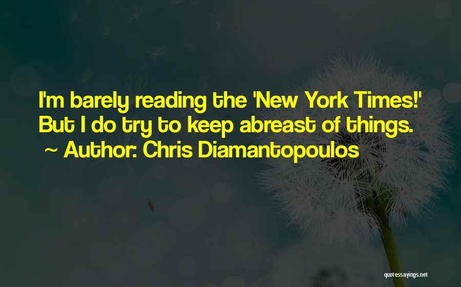 Do The New Quotes By Chris Diamantopoulos