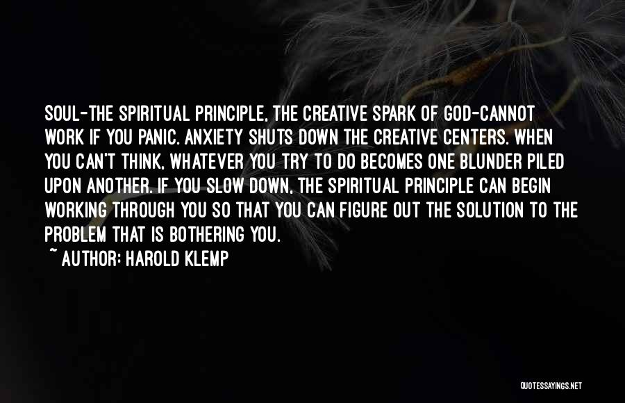 Do The Work Quotes By Harold Klemp