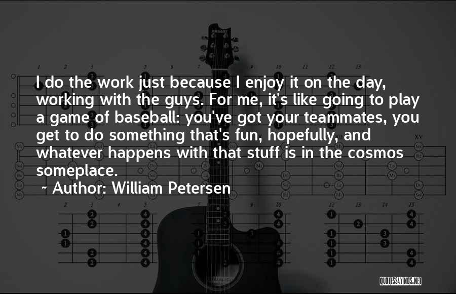 Do The Work Quotes By William Petersen