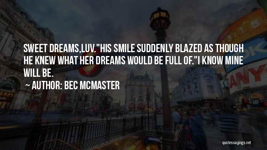 Do U Luv Me Quotes By Bec McMaster