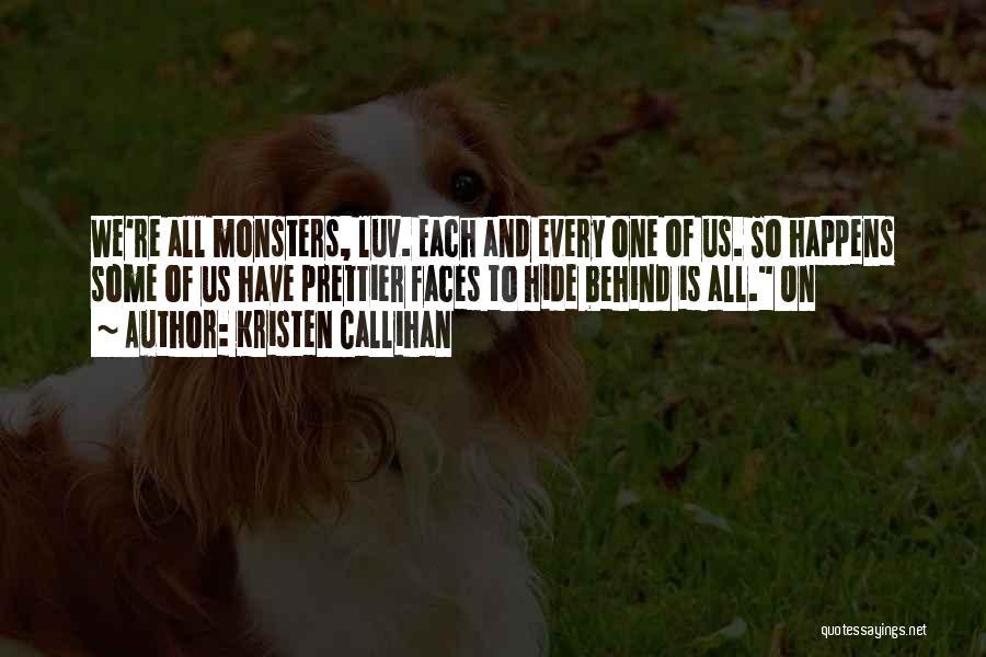 Do U Luv Me Quotes By Kristen Callihan