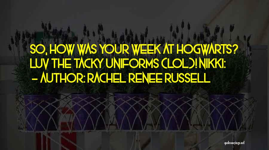 Do U Luv Me Quotes By Rachel Renee Russell