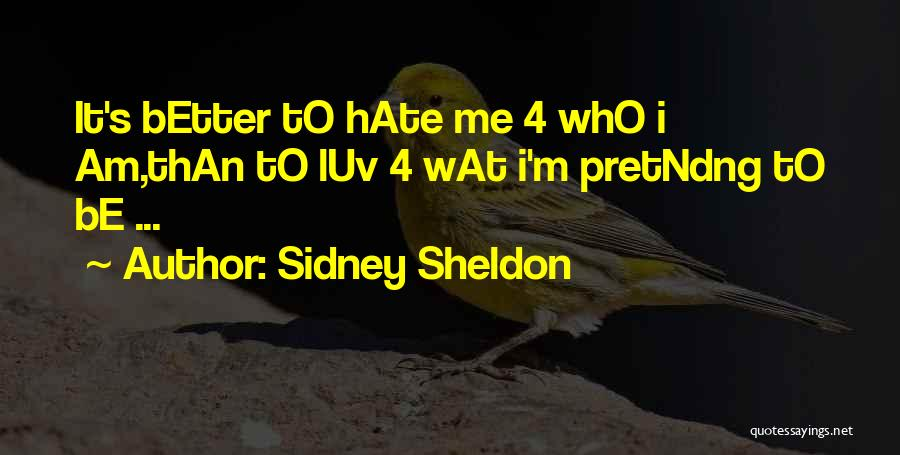 Do U Luv Me Quotes By Sidney Sheldon