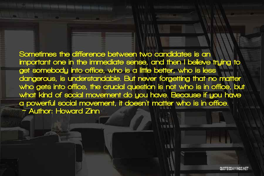 Do What You Believe In Quotes By Howard Zinn