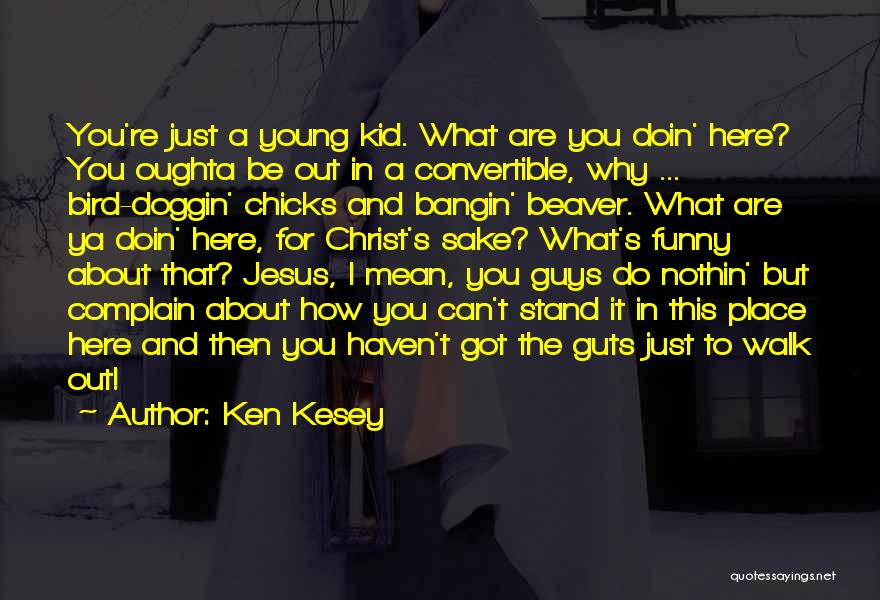 Do What You Mean Quotes By Ken Kesey
