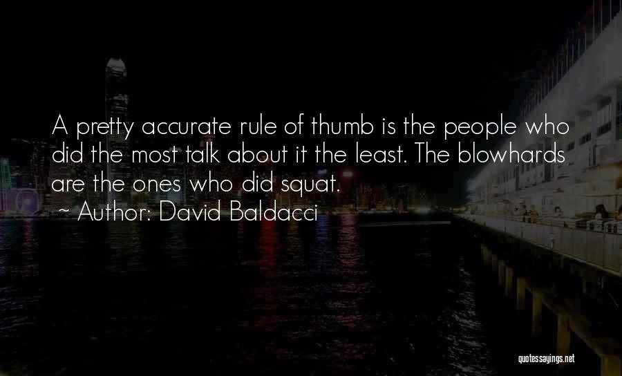 Do You Squat Quotes By David Baldacci