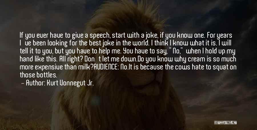 Do You Squat Quotes By Kurt Vonnegut Jr.
