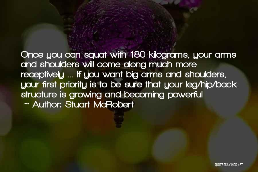 Do You Squat Quotes By Stuart McRobert