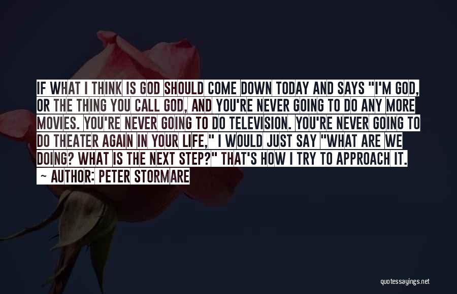 Do Your Thing Quotes By Peter Stormare