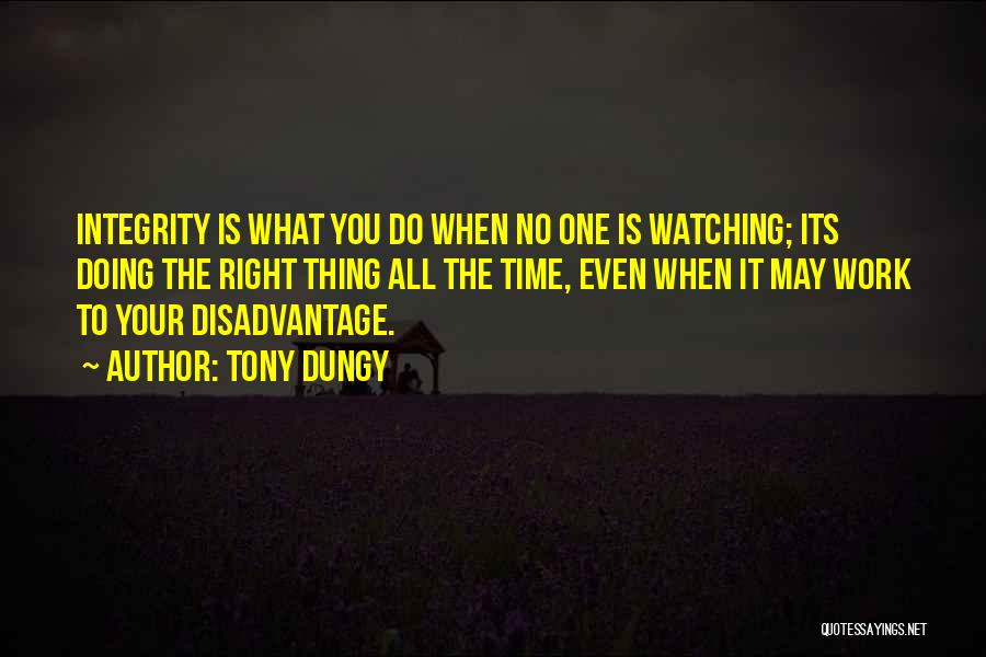 Do Your Thing Quotes By Tony Dungy