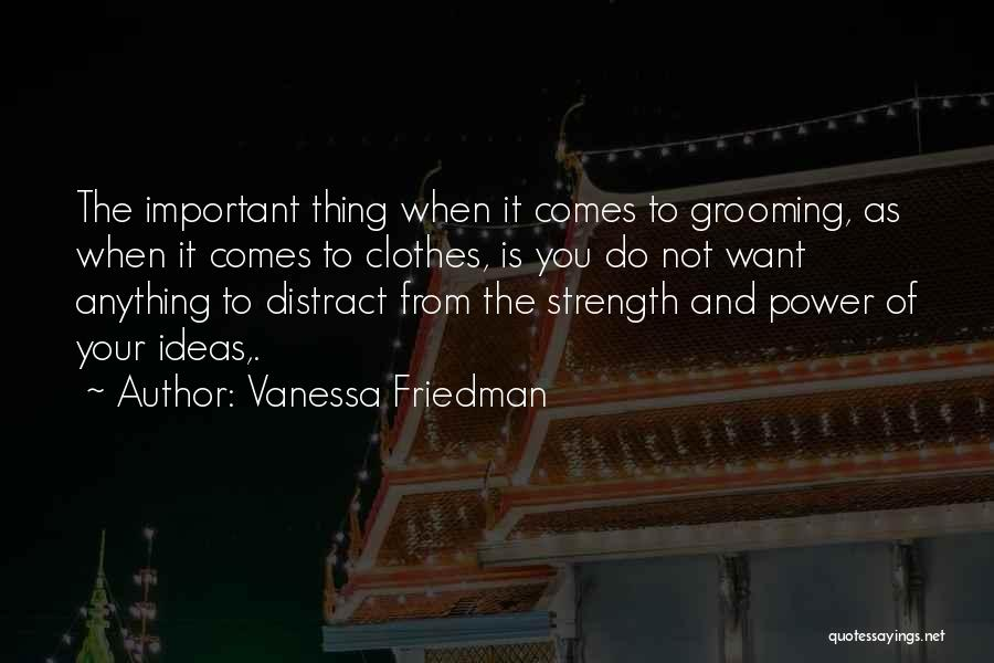 Do Your Thing Quotes By Vanessa Friedman