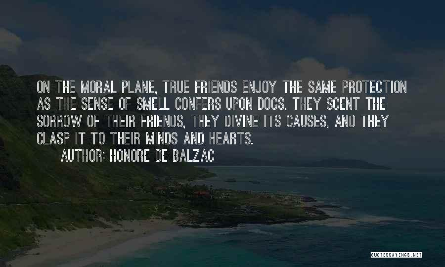 Dog And Quotes By Honore De Balzac