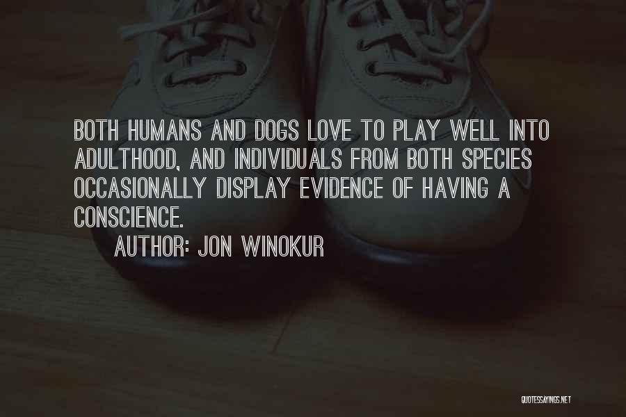 Dog And Quotes By Jon Winokur