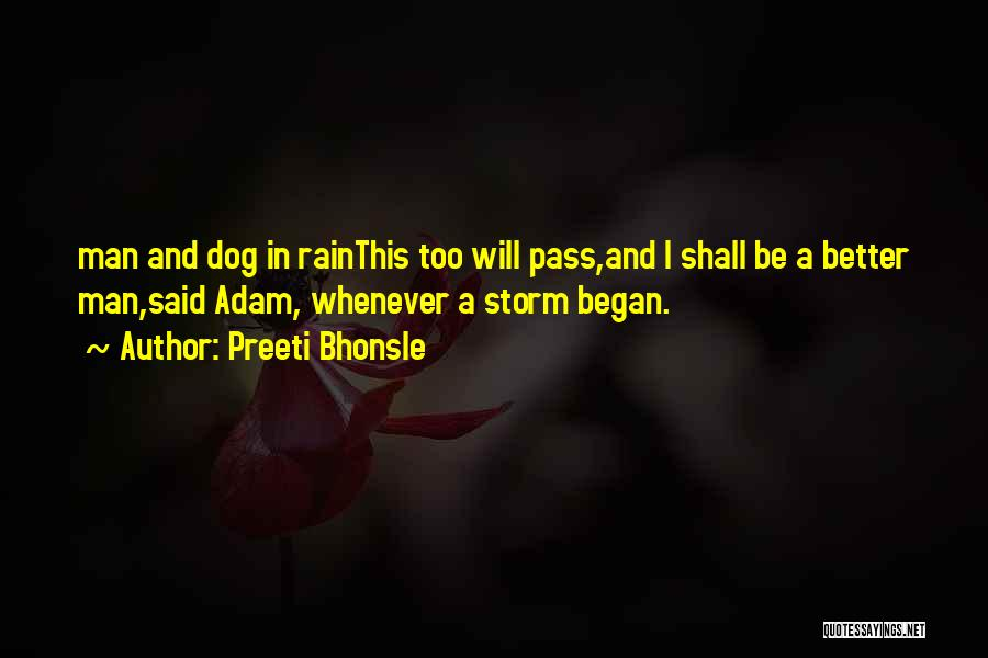 Dog And Quotes By Preeti Bhonsle