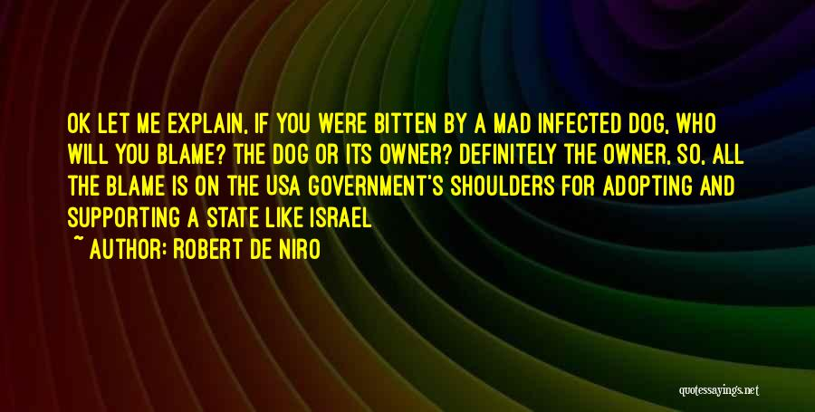 Dog And Quotes By Robert De Niro