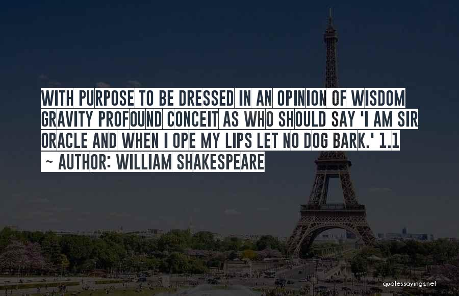 Dog And Quotes By William Shakespeare