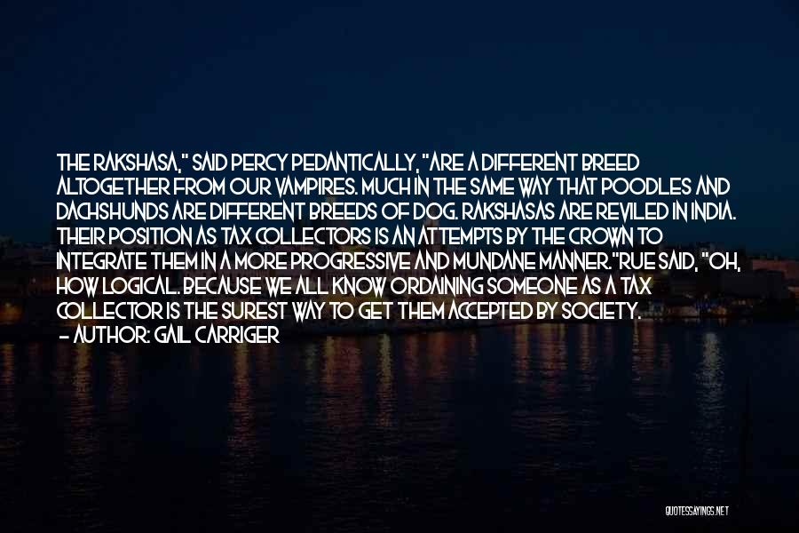 Dog Breed Quotes By Gail Carriger