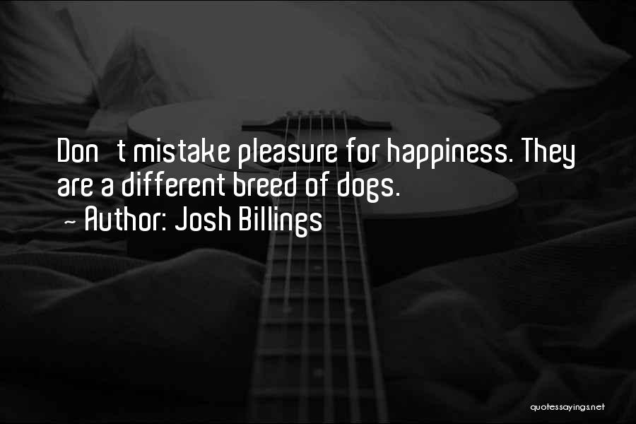 Dog Breed Quotes By Josh Billings