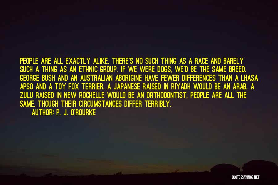 Dog Breed Quotes By P. J. O'Rourke