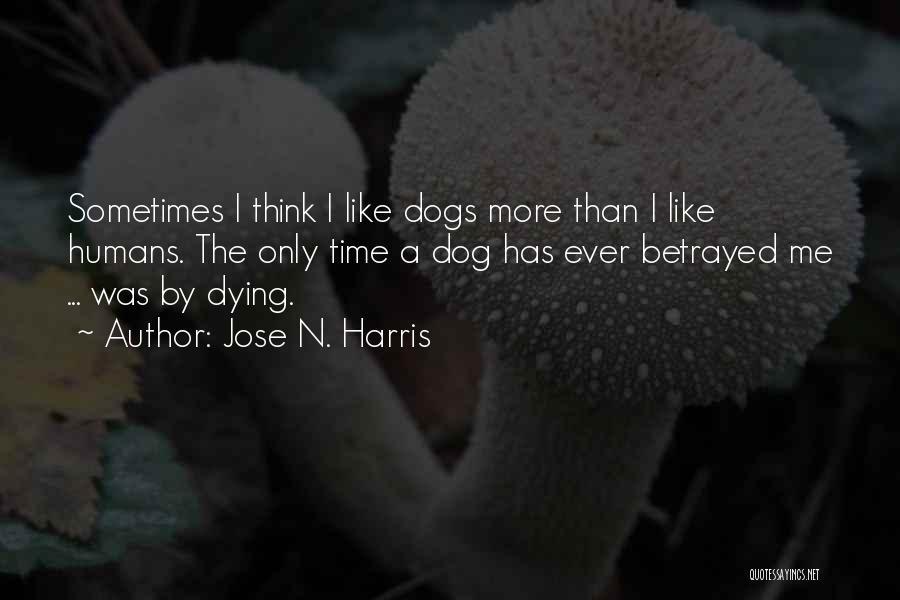 Dog Faithfulness Quotes By Jose N. Harris