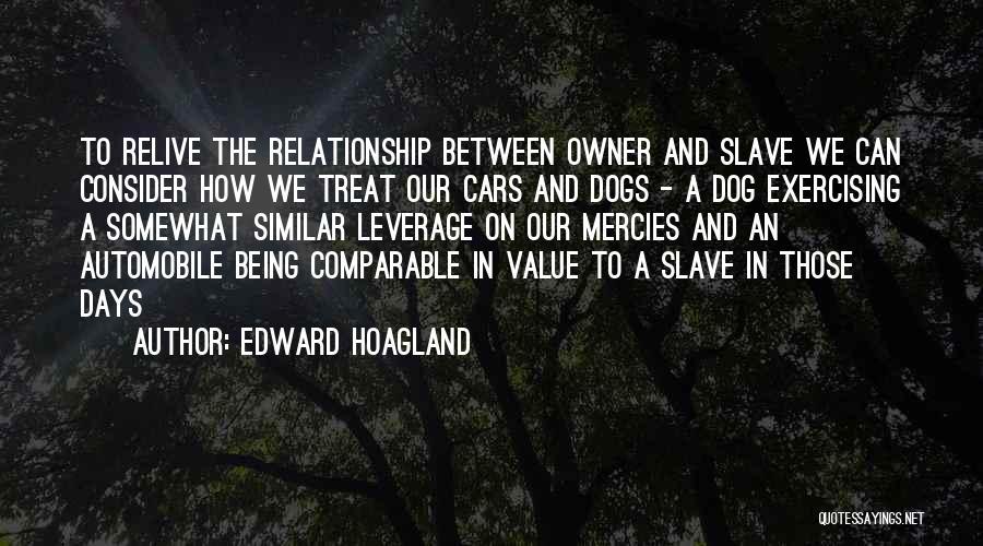 Dog Treat Quotes By Edward Hoagland