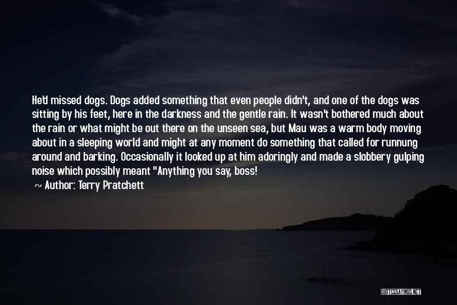 Dogs And The Sea Quotes By Terry Pratchett