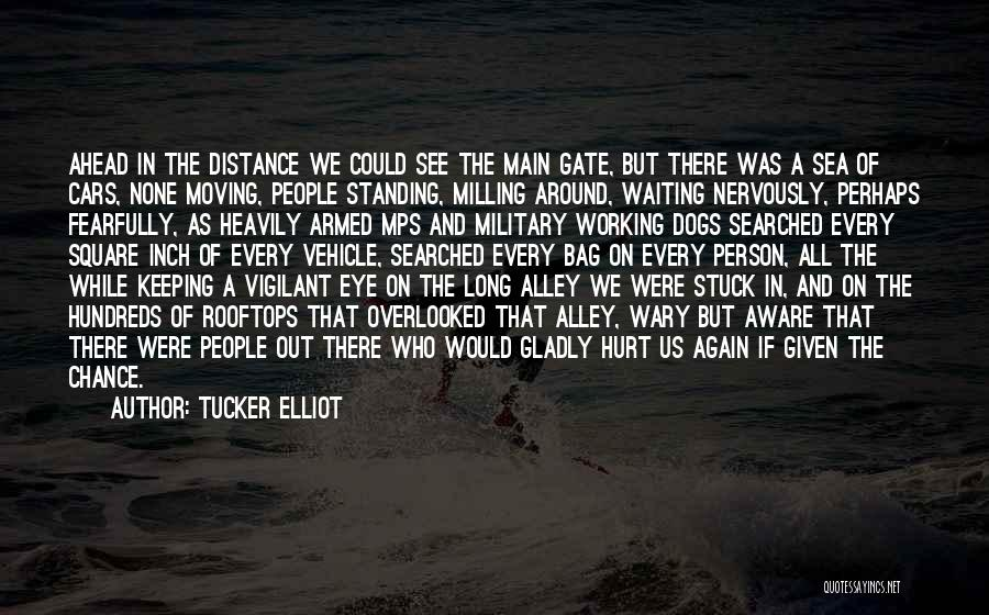 Dogs And The Sea Quotes By Tucker Elliot