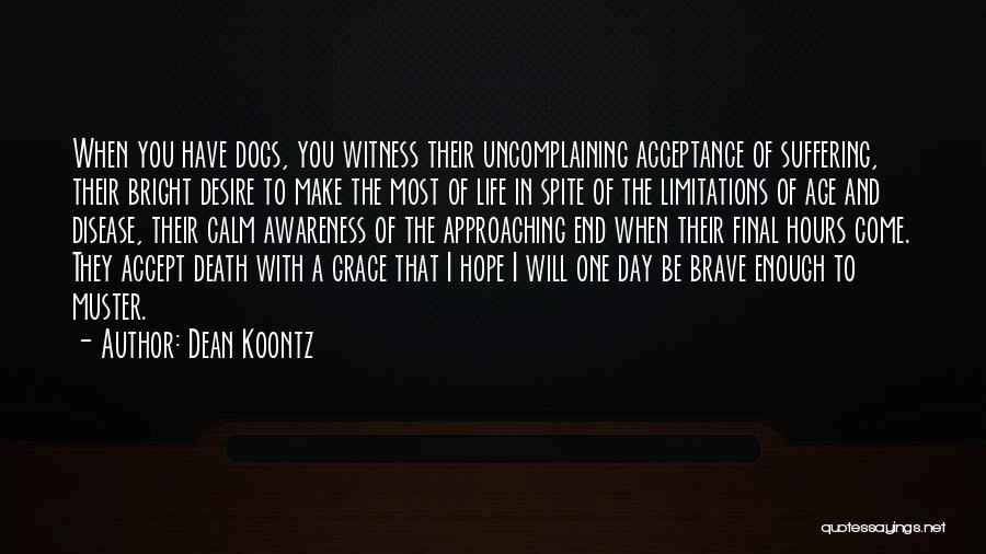 Dogs Day Out Quotes By Dean Koontz