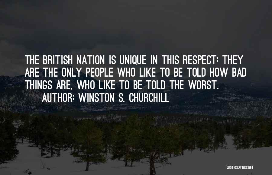 Doing Bad By Myself Quotes By Winston S. Churchill