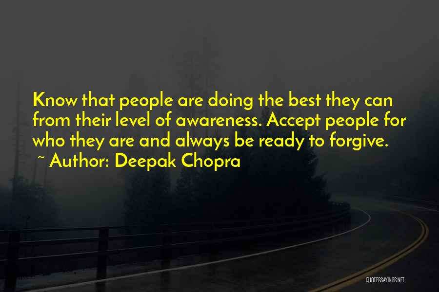 Doing Best Quotes By Deepak Chopra