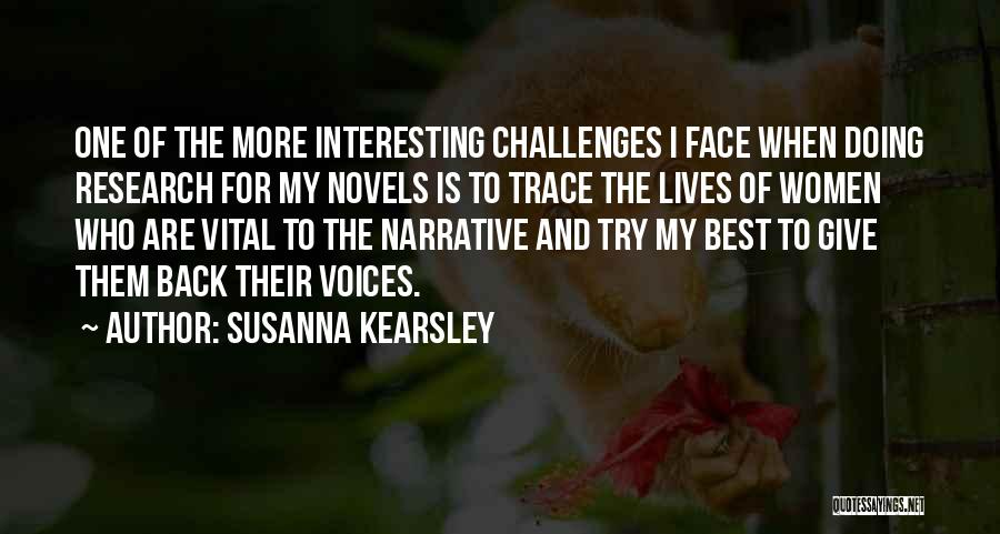 Doing Best Quotes By Susanna Kearsley