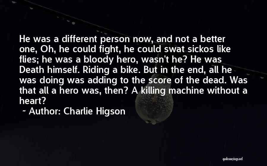 Doing Better Now Quotes By Charlie Higson