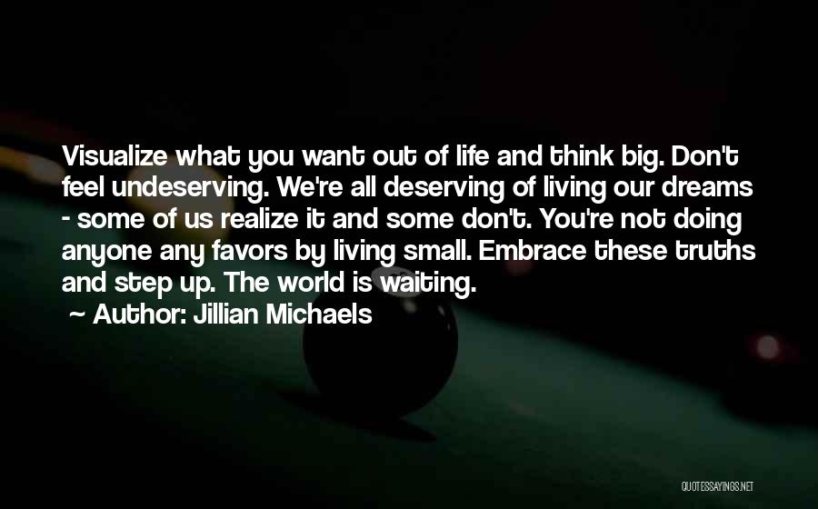 Doing Favors Quotes By Jillian Michaels