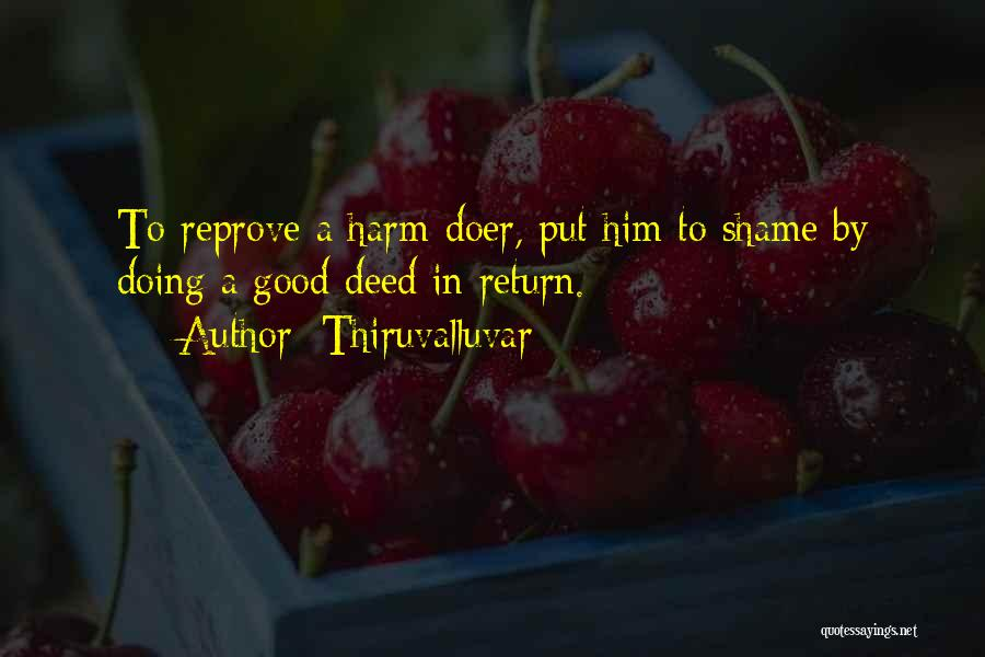 Doing Good Deed Quotes By Thiruvalluvar