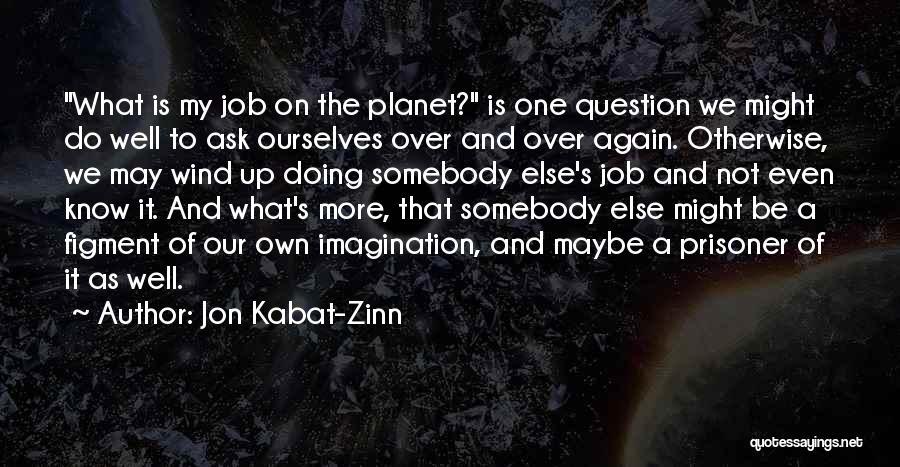 Doing Job Well Quotes By Jon Kabat-Zinn