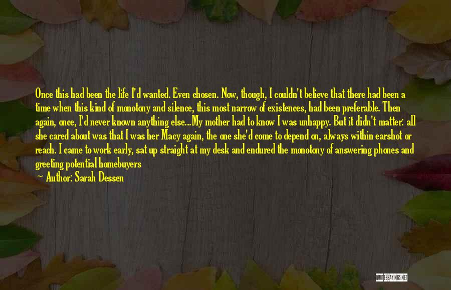 Doing Me Now Quotes By Sarah Dessen