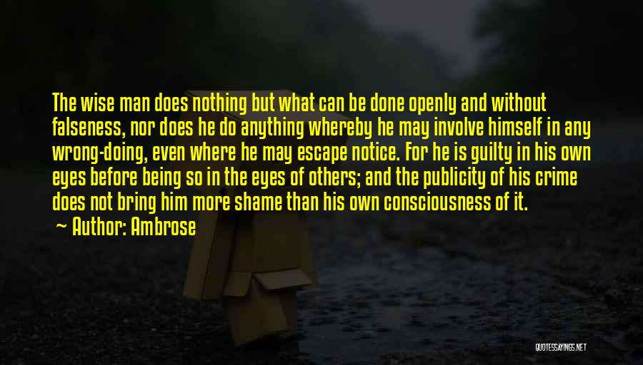 Doing More For Others Quotes By Ambrose