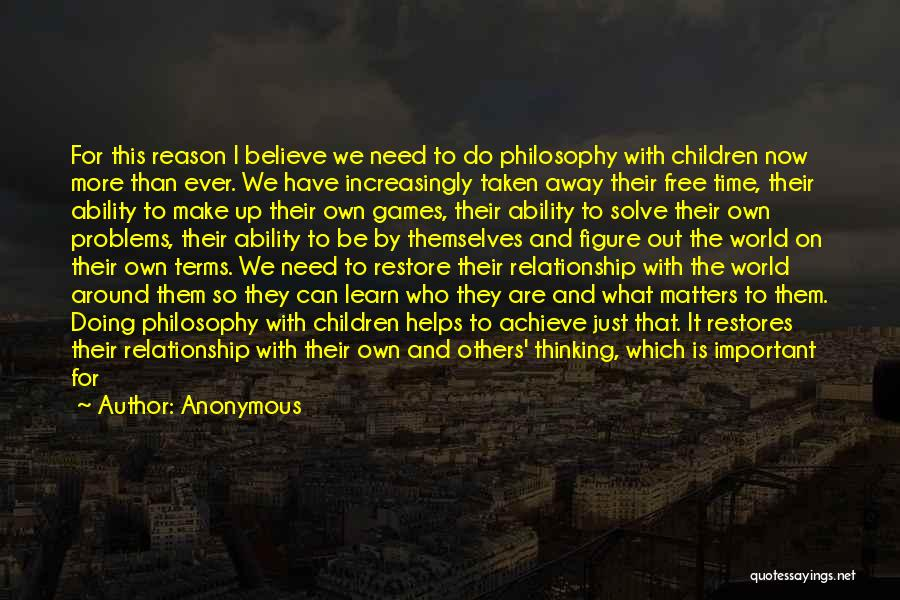 Doing More For Others Quotes By Anonymous